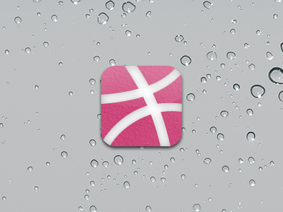 Dribbble-ios-white-pink