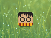 Harry Pottah iOS Icon