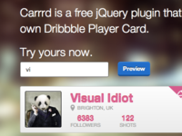 Carrrd jQuery Plugin
