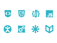 icons for WebPlatform.org