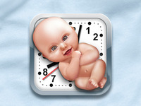 Contractions Counter iPhone icon