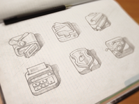 Quick icons sketch
