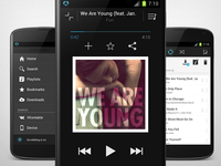 Android music player