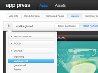 App Press Dropdown2