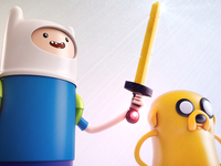 Finn and Jake close