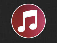 iTunes icon, plain and simple