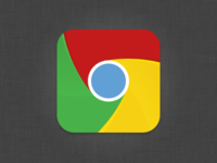 Minimal Chrome iOS Icon
