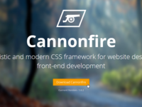 Cannonfire CSS Framework Introduction