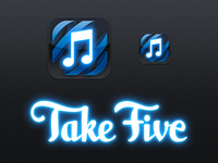 Take Five Logo and Icon
