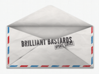 Brilliant Bastards Update Service Envelope