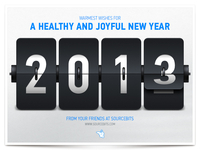 Happy New Year 2013! (+PSD)