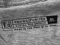 Y&U Shirt Tag Design