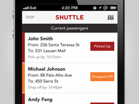 Shuttle - Ride Sharing App