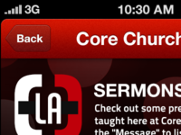 Core Church App