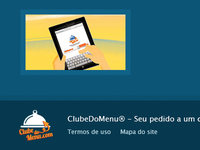 Clube do Menu Footer