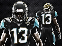New Jaguars uniforms