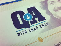 Q&A flyer and logo