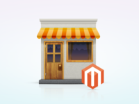 """Magento Shops"" — Icon / Illustration"