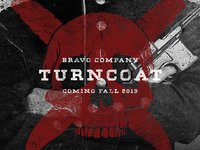 """Turncoat"" Release Artwork"