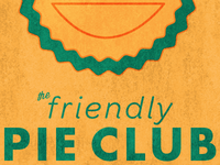 Friendly Pie Club Text