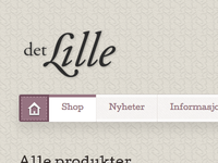 "Logo for ""det Lille"""