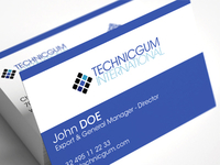Technicgum business cards