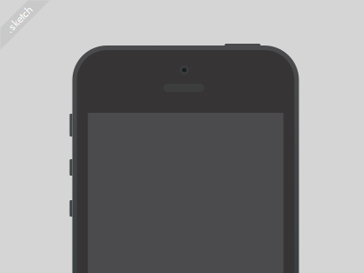 Download Simple vector iPhone Sketch freebie
