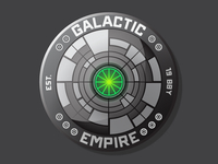 Death Star Badge C 1