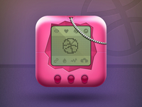 Dribbble Tamagotchi Icon