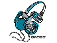Koss PortaPro Headphones - Shirt Design