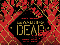 The Walking Dead - Screenprint Poster