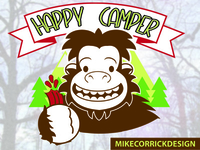 Happy Camper Logo