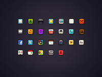 Mini iOS Icons