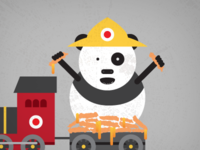 Filthy Commoner Panda Express Illustration