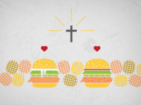 Chick-Fil-A Rapture Illustration