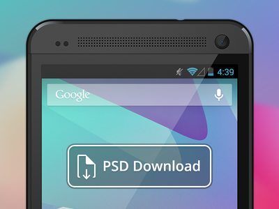 Download Vector HTC One PSD Download