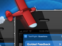 TestFlight Feedback UI
