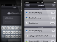 Stratus App iPhone UI v2
