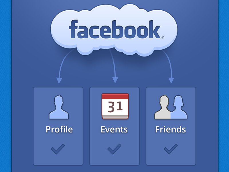 Facebook Connected Mobile iPhone UI Design by Jeff Broderick