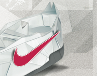 Nike origami Work in progress
