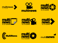 Multinews logo variations