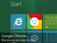 Windows 8 Chrome Tile