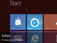 Windows 8 Safari Tile