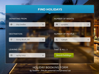 Holiday Booking Form