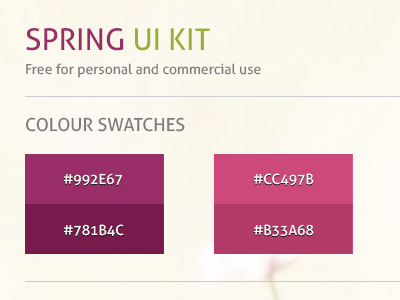 Download Spring UI Kit