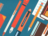 Scribd Facebook Header illustration