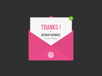 Thanks Kevan !
