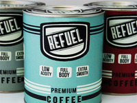 Refuel Coffee Packaging
