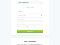 Signup Functionality Prototype