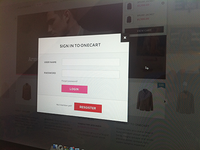 OneCart Login